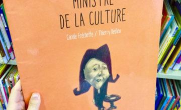 Une Ministre de la Culture veut convaincre ses collègues de l