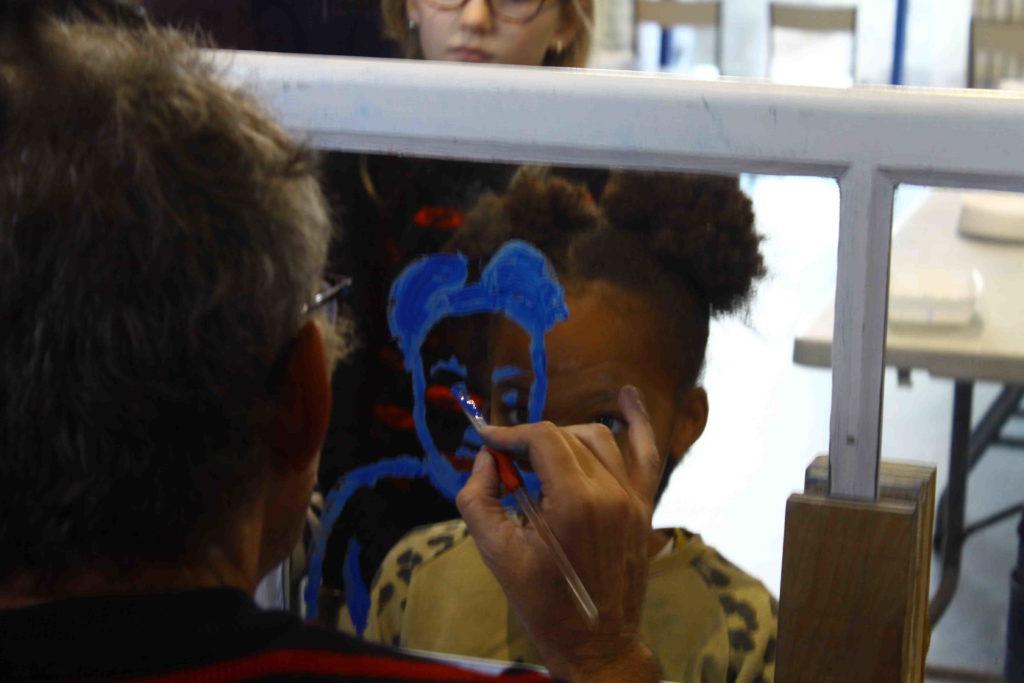 Exemple atelier Sourires reflets empreintes