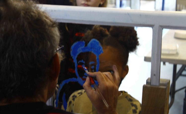 Atelier tout-public «Sourires, reflets et empreintes» avec Marc Daniau