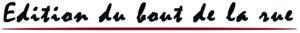 Logo Editions Bout de la Rue